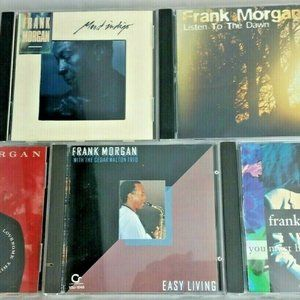 Five CDs Frank Morgan - Easy Living A Love Some Th